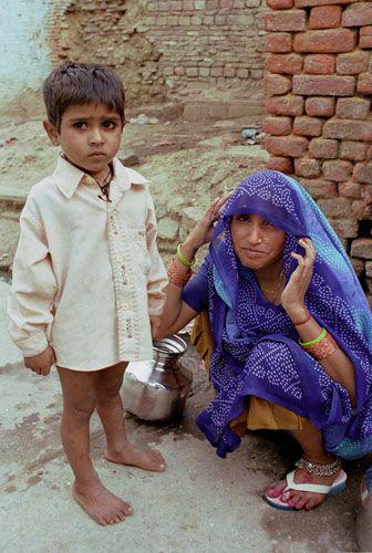 Zdjęcia: Jaipur, Rajasthan, mieszkańcy Jaipuru, INDIE