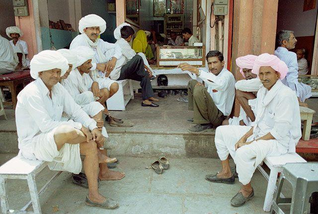 Zdjęcia: Jaipur, Rajasthan, przy glównej ulicy, INDIE