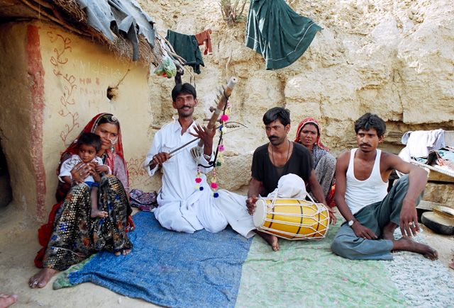 Zdjęcia: Jaisalmer, Rajasthan, Rodzina Jagdisha Bhopy, INDIE