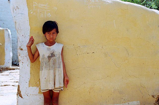 Zdjęcia: Jaisalmer, Rajasthan, dziewczynka z Jaisalmeru, INDIE