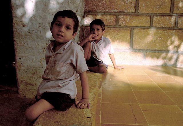 Zdjęcia: Jaisalmer, Rajasthan, dzieci Jaisalmeru, INDIE