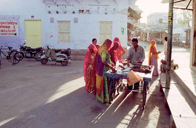 Zdjęcia: Pushkar, Rajasthan, ulica Pushkaru, INDIE