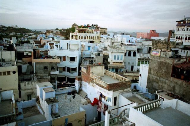Zdj�cia: Udaipur, Rajasthan, Udaipur z tarasu hotelu, INDIE