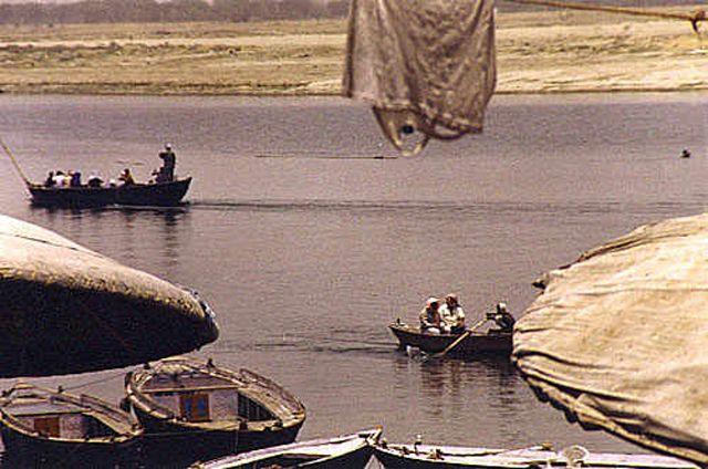 Zdj�cia: Varanasi, �wi�ta Ganga, INDIE