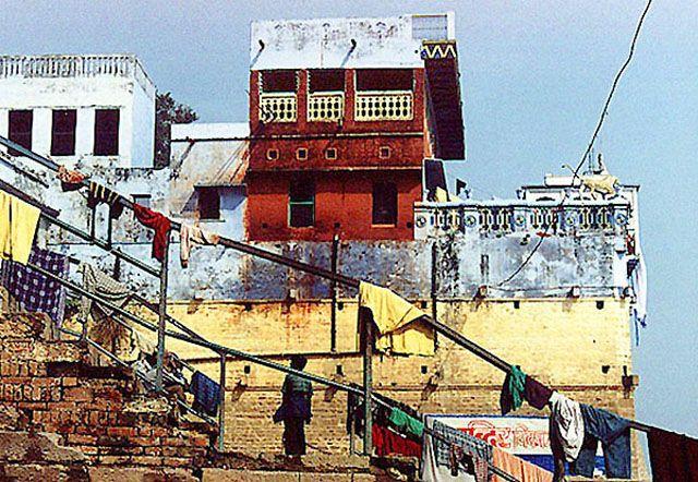 Zdjęcia: Varanasi, widok na ghatach, INDIE
