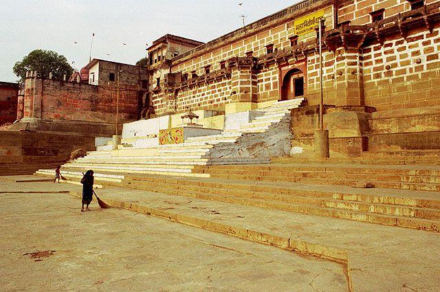 Zdj�cia: Varanasi, ghaty, INDIE