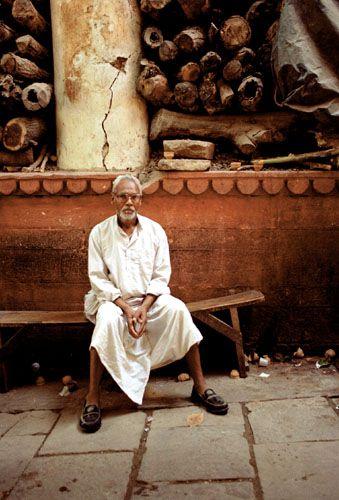 Zdjęcia: Varanasi, mieszkaniec Varanasi, INDIE
