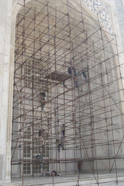 Zdjęcia:  w  INDIACH, Tadź Mahal , zbytek 8, INDIE
