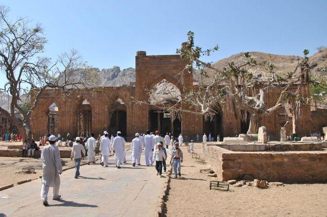 Zdjęcia: Ajmer, Rajastan, ruiny meczetu, INDIE