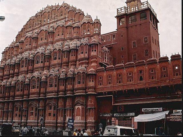Zdjęcia: Jaipur, Radżastan, Hawa Mahal, INDIE