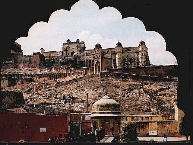 Zdjęcia: okolice Jaipuru, Radżastan, fort Amber 1, INDIE