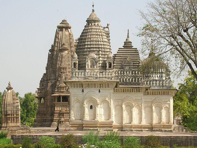 Zdjęcia: Khajuraho, Madhja Pradesh, Świątynia 1 - grupa zachodnia, INDIE