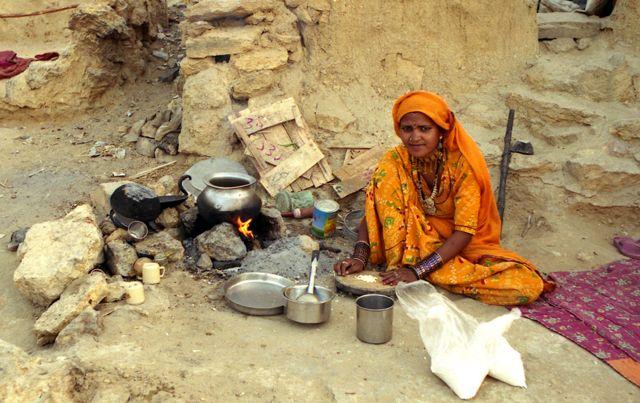 Zdjęcia: Jaisalmer, Rajasthan, z wizytą u nomadów, INDIE