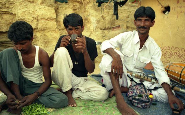 Zdjęcia: Jaisalmer, Rajasthan, bracia Bhopa, INDIE