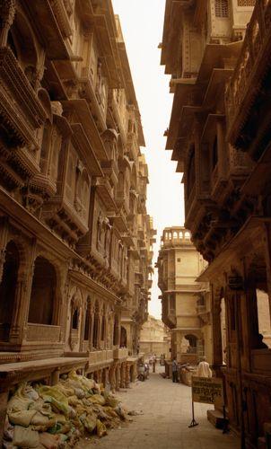 Zdjęcia: Jaisalmer, Rajasthan, to nie Beksiński, INDIE