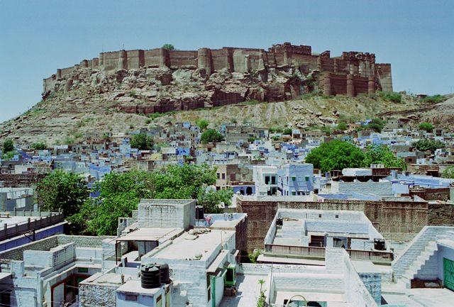 Zdjęcia: Jodhpur, Rajasthan, Błękitne Miasto, INDIE