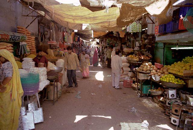 Zdjęcia: Jodhpur, Rajasthan, bazar Jodhpuru, INDIE