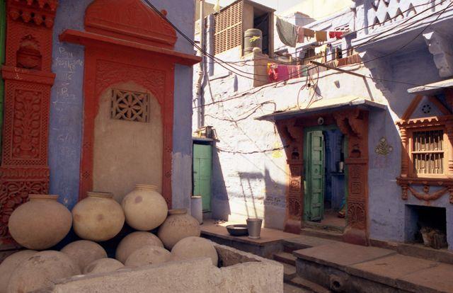 Zdjęcia: Jodhpur, Rajasthan, Błękitne Miasto nie wszędzie błękitne..., INDIE
