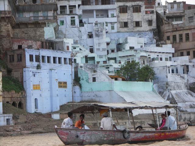 Zdjęcia: Varanasi, Rejs po Gangesie, INDIE