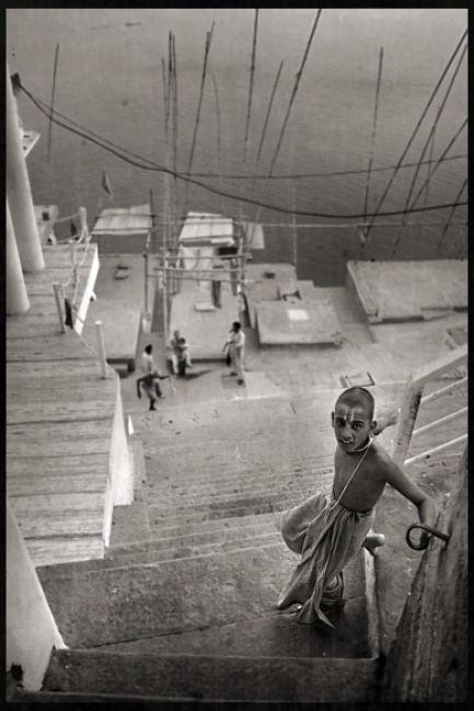 Zdjęcia: Varanasi, Mnich, INDIE
