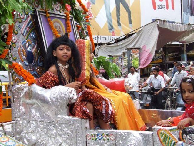 Zdjęcia: Varanasi, królem być, INDIE