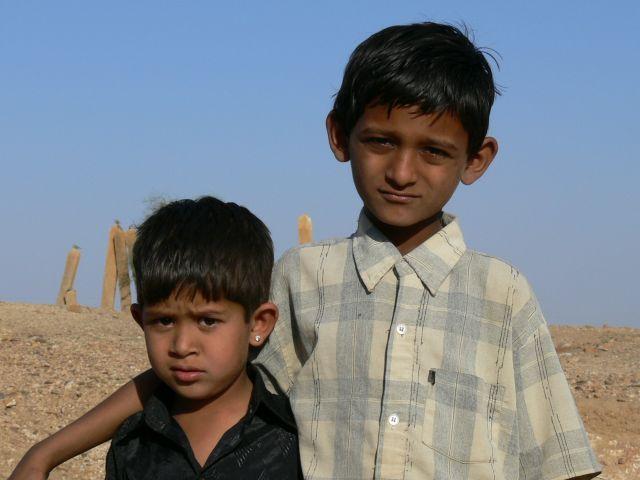 Zdjęcia: Pustynia Thar, Radżastan, Starszy brat, INDIE