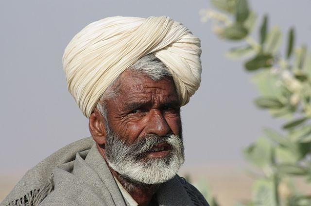 Zdjęcia: Gdzieś w Indiach, Człowiek pustyni, INDIE