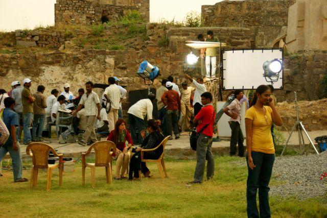 Zdjęcia: Indie, Indie, Film krecą , INDIE