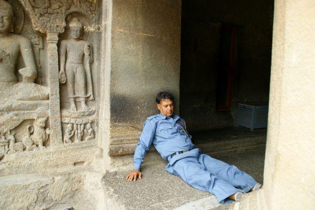 Zdjęcia: Indore, Indore, Strażnik, INDIE