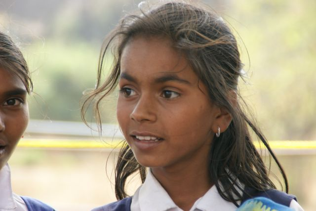Zdjęcia: Indie, Indie, Wraca ze  szkoły, INDIE
