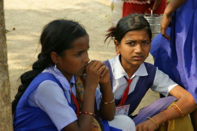 Zdjęcia: Indie, Indie, Przed  lekcją, INDIE