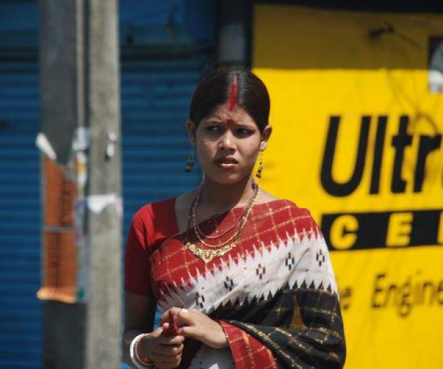 Zdjęcia: Kalkuta, Kobiety Indi, INDIE