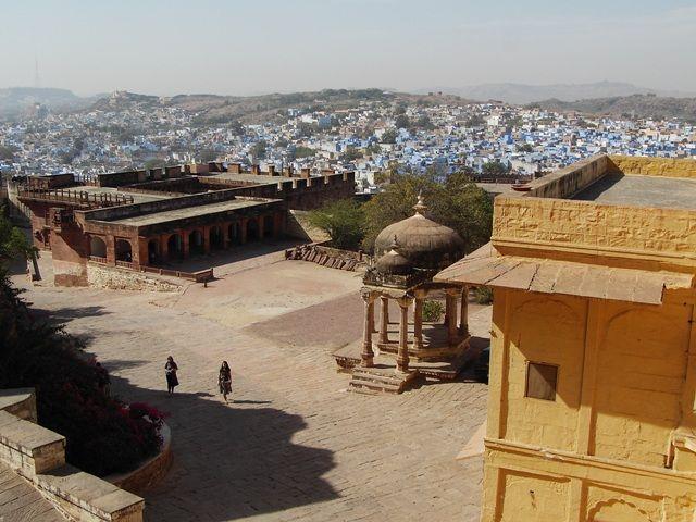 Zdjęcia: Jodhpur, Rajasthan, fort Meherangarh, INDIE