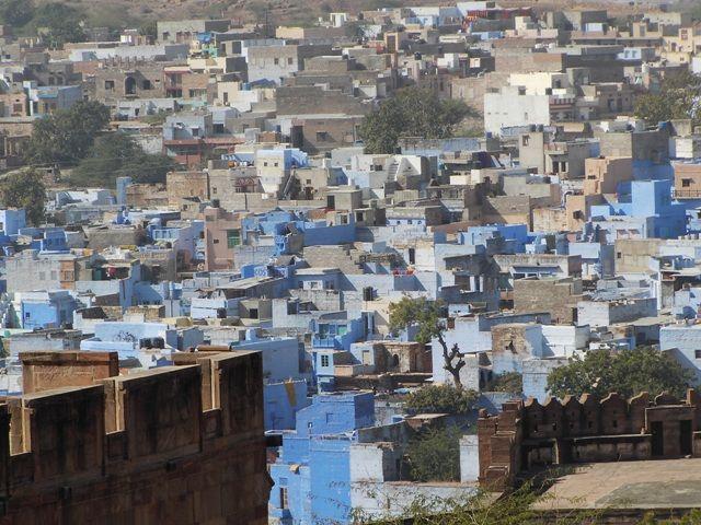 Zdjęcia: Jodhpur, Rajasthan, widok z fortu, INDIE