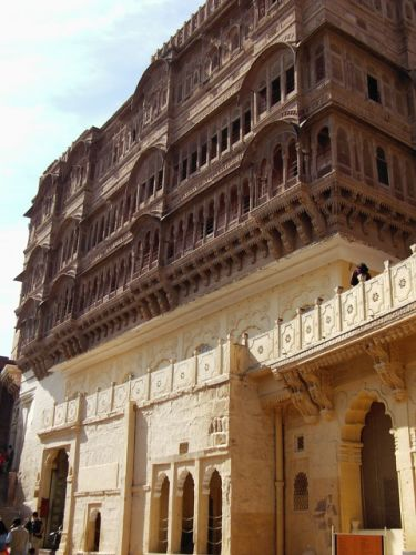 Zdj�cia: Jodhpur, Rajasthan, fort Meherangarh, INDIE