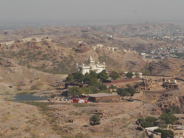 Zdj�cia: Jodhpur, Rajasthan,  widok z fortu Jasthwan Thada, INDIE