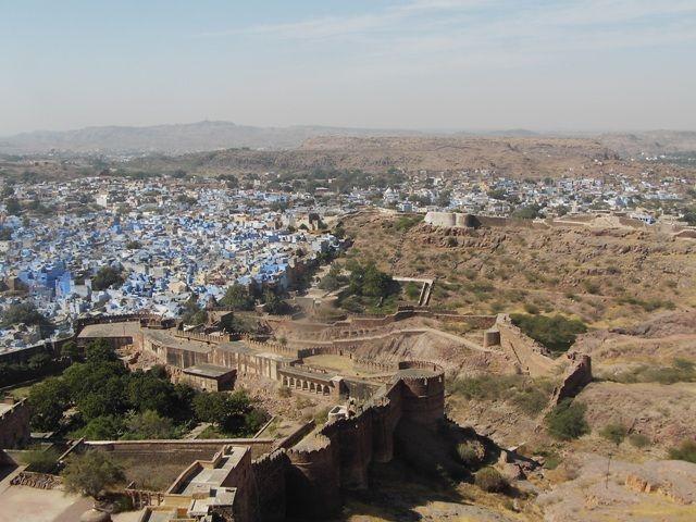Zdjęcia: Jodhpur, Rajasthan, błękit Jodhpuru, INDIE