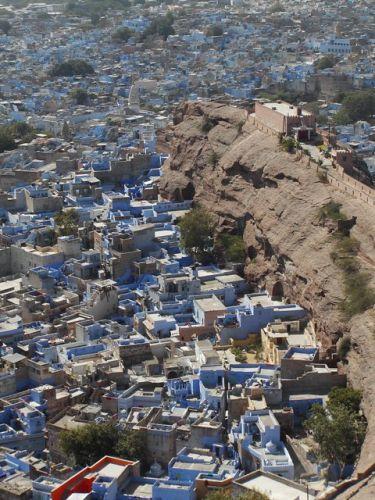 Zdjęcia: Jodhpur, Rajasthan, fort w błękicie Jodhpuru, INDIE