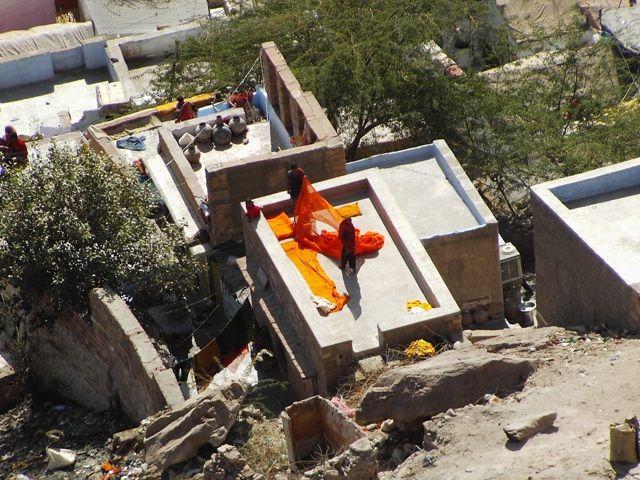 Zdjęcia: Jodhpur, Rajasthan, suszymy pranie??, INDIE