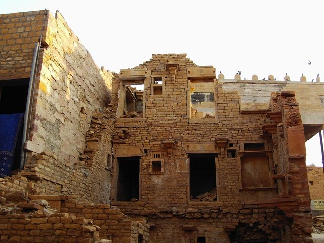 Zdjęcia: Jaisalmer - pustynia Thar, Rajasthan, bajkowy fort, INDIE