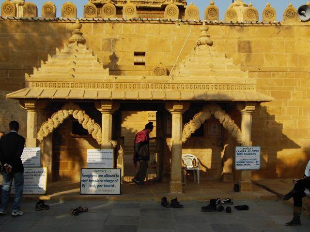 Zdjęcia: Jaisalmer - pustynia Thar, Rajasthan, z cyklu świątynie, INDIE