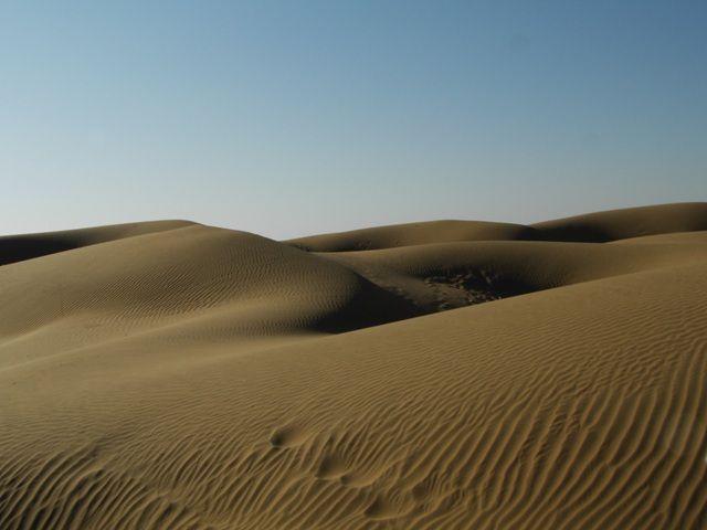 Zdjęcia: Jaisalmer - pustynia Thar, Rajasthan, piaskownica, INDIE