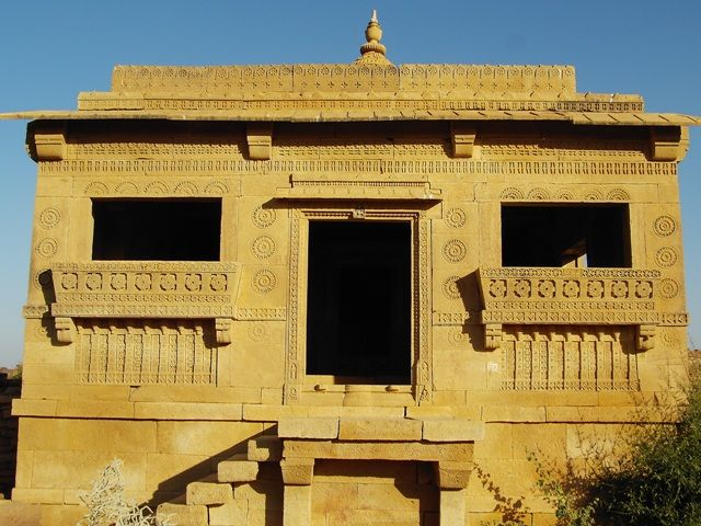 Zdj�cia: Jaisalmer - pustynia Thar, Rajasthan, opuszczone miasto, INDIE