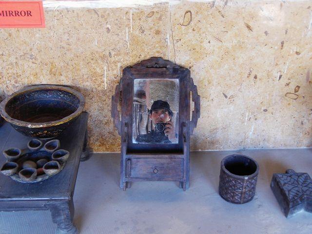 Zdjęcia: Jaisalmer - pustynia Thar, Rajasthan, lustrzane odbicie, INDIE