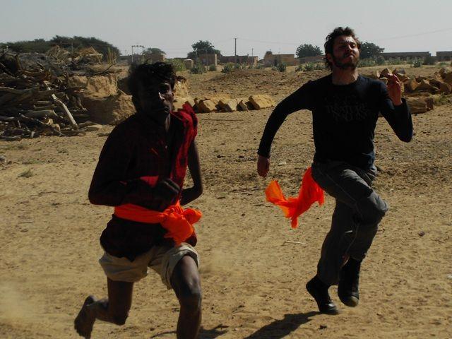 Zdjęcia: Jaisalmer - pustynia Thar, Rajasthan, wyścig, INDIE