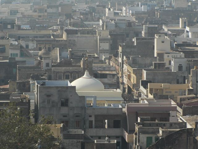 Zdj�cia: Jaipur, Rajasthan, widok na miasto, INDIE