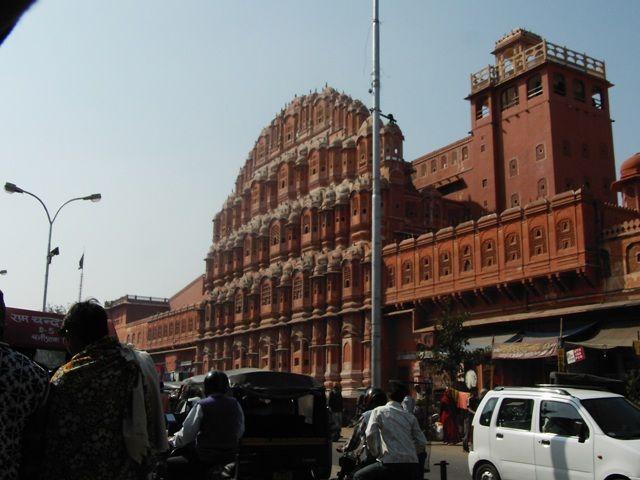 Zdjęcia: Jaipur, Rajasthan, ruch uliczny, INDIE