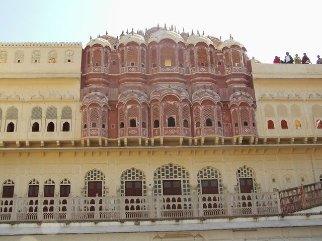 Zdj�cia: Jaipur, Rajasthan, Hawa Mahal, INDIE