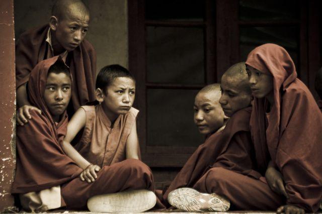 Zdjęcia: Lamayuru, Ladakh, Młodzi mnisi, INDIE