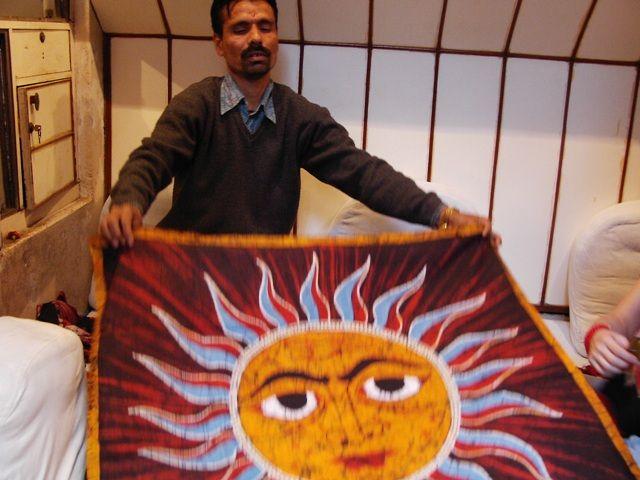 Zdjęcia: Varanasi, Uttar Pradesh, sprzedawca, INDIE